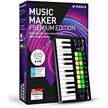 Magix Music Maker – 2018 Performer Edition – Make music with audio software and USB pad controller