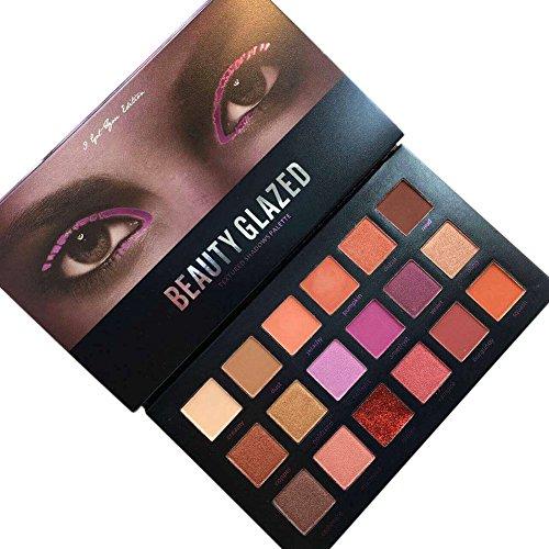 OYOTRIC 18 Couleur Palette Ombre À Paupières Matte + Shimmer Haute Pigmented Eye Shadows Cosmétiques