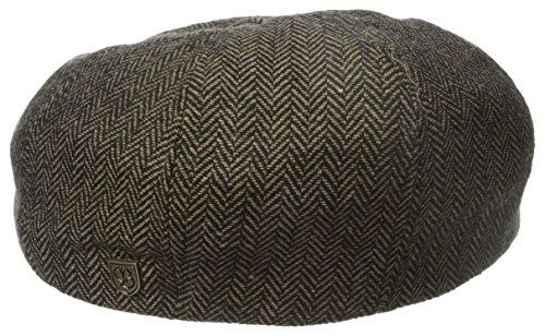 Brixton Unisex Mütze Brood brown / khaki herringbone