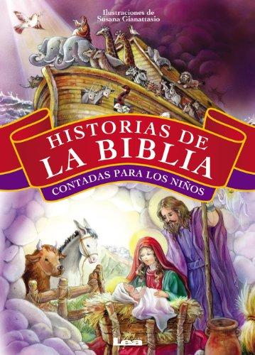 Historias de la Biblia contadas para los niños (Tapa Dura) por María de los Santos Vescio