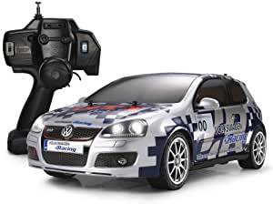 tamiya t2m 57778l v hicule radio commande voiture lectrique golf gti xb jeux. Black Bedroom Furniture Sets. Home Design Ideas