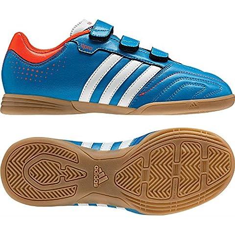 adidas Performance 11questra IN J H & L q23853Joven Fútbol guantes, G61558, BRIBLU/RUNWH, 3,5