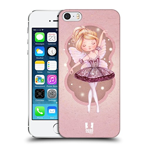 Head Case Designs Clara Lo Schiaccianoci Cover Retro Rigida per Apple iPhone 7 Plus / 8 Plus Fatina Buona
