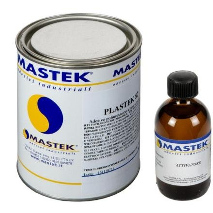 Pegamento para PVC 900gr induritore RFE 75gr Plastex 82mastek