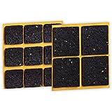 peha® Almohadilla antideslizante peha® (impide que muebles, sofás o mesas sedeslicen), autoadhesiva | conjunto - cuadrado (13 piezas)