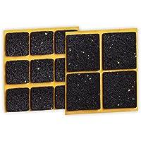Peha® patins antidérapants (anti dérapant pour les meubles, canapés, tables ), auto -adhésif, carrés (13 pièces)