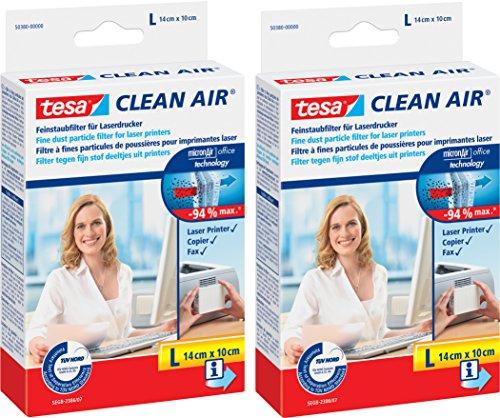 für Laserdrucker, Clean Air (2× Größe L) (Haus-air Filter)