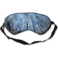 Eye Mask Eyeshade Forest Night Stars Sleep Mask Blindfold Eyepatch Adjustable Head Strap preisvergleich bei billige-tabletten.eu