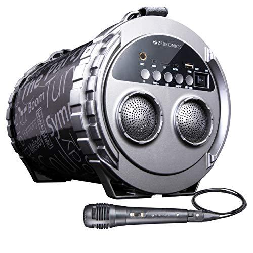 Zebronics Zeb-Super Bazooka Portable Bluetooth Speaker with Micro SD Card and USB connectivity
