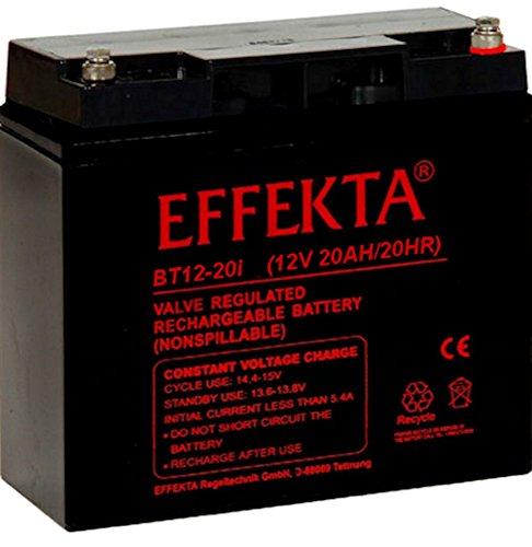Effekta AGM Akku Batterie Typ BT12-20i 12V 20Ah Innengewindel M5