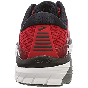Brooks Adrenaline GTS 18, Zapatillas de Running para Hombre, Rojo (Red/Black/Silver 1d673), 41 EU