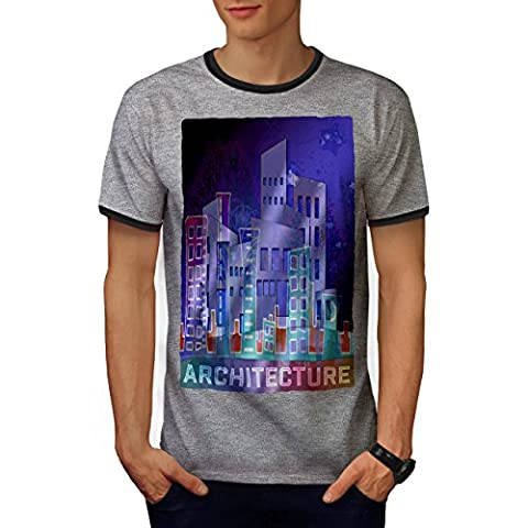 Architecture City Fashion Men M Ringer T-shirt | Wellcoda