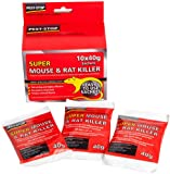 Super Mouse and Rat Killer (10 x 40g Sachets)