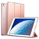 ESR Funda para iPad Air 3ª generación 2019/iPad 2019, Funda Flexible Ligera con Función Automática de Reposo/Actividad, Forro de Microfibra, Funda Trasera Suave para iPad Air 2019 de 10.5'- Oro Rosa