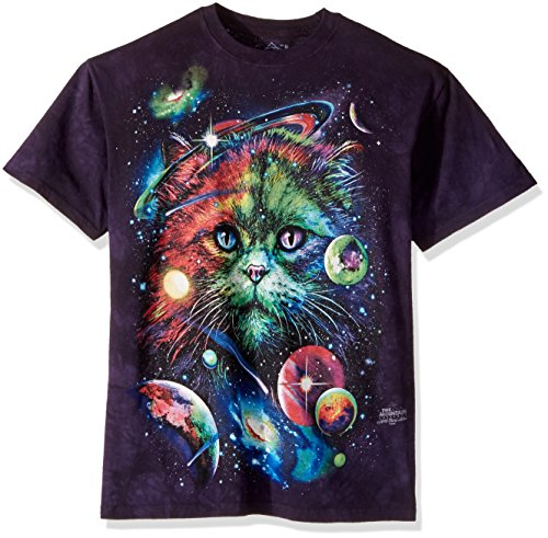 "The Mountain T-Shirt ""Cosmic Cat"" Mehrfarbig"