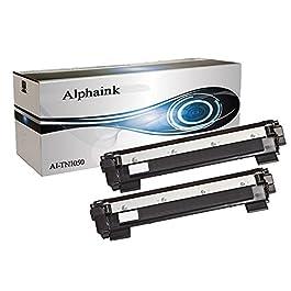 2 Toner Alphaink Compatibile con Brother TN-1050 versione da 1000 copie per stampanti Brother DCP1510 DCP1512 DCP1601…