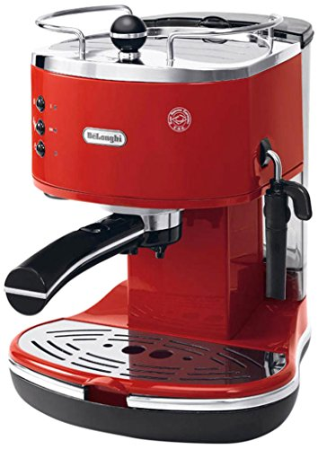 Delonghi Icona Eco Machines à Café, Rouge, 1100 W