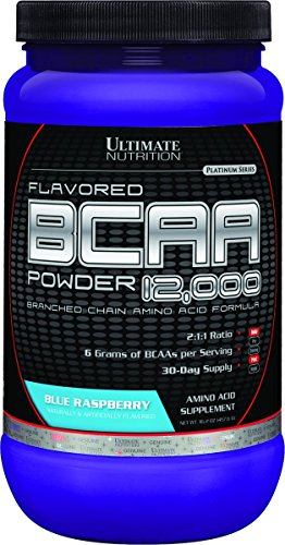 Flavored BCAA Powder 12,000 Blue Raspberry 457 grams preisvergleich