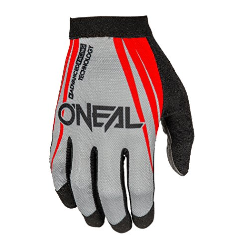 O'Neal AMX Handschuhe Blocker, Fahrrad, Rot/Grau, L