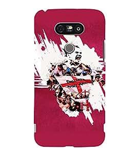 PRINTVISA Football Rooney Case Cover for LG G5