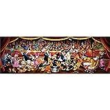Clementoni 39445–Disney Panorama Collection Orquesta Puzzle, 1000piezas