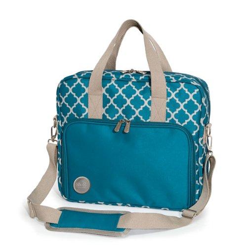 Preisvergleich Produktbild WE R Memory Keepers Stoff Crafter 's Shoulder bag-15.5-inch X 43cm x 3.75-inch Aqua