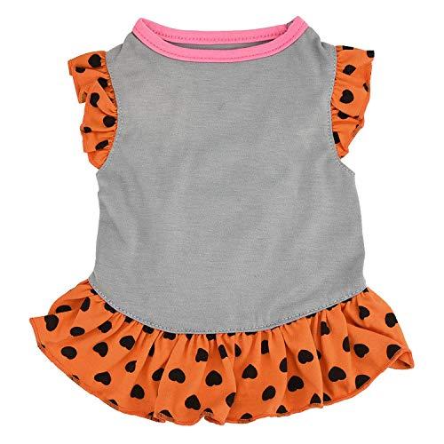 frgtrhb Hundekleidung für kleine Hunde und Katzen, süßes Sommerweste, Perro Hundekleidung, A, XS