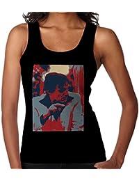 Hugh Hefner Playboy King 1981 Women's Vest