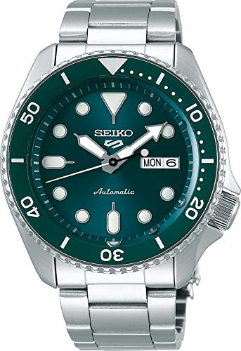 SEIKO Automatische Uhr SRPD61K1, grün, Sport
