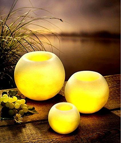 'LED de cera velas