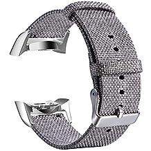 Beisoug 20mm Correa de Pulsera para Reloj de reemplazo de Cuero para Samsung Galaxy, Reloj
