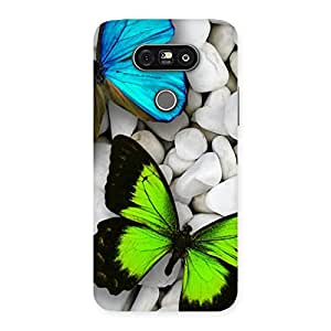 Premier Butterflies Multicolor Back Case Cover for LG G5