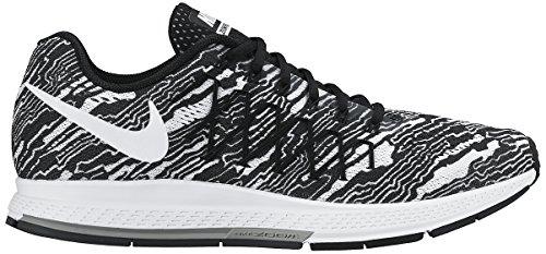 Nike  Air Zoom Pegasus 32 Print, Scarpe sportive, Uomo Black / White (Black/White)