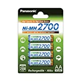 Pilas Panasonic Recargables doble AA