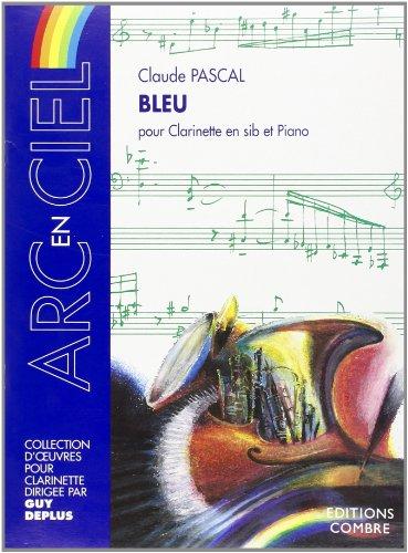 Bleu pour Clarinette Sib et Piano