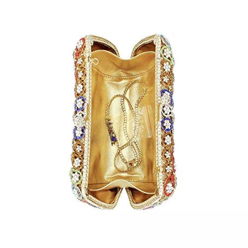 Damen Diamanten Abendtaschen Brautkleider Clutch Taschen Partytaschen A