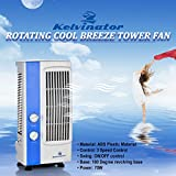 #3: KUMAKA Kelvinator Oscillating Base Multipurpose Tower Fan With 180 Degree Rotating Base KTF051 (White)