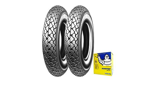 Paar Reifen Reifen Michelin S83 3 50 10 59j Fahrradschlauch Vespa Px 125 150 Auto