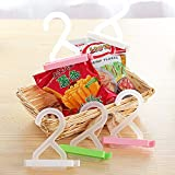Bag Clip With Hanger - Set Of 2 - Assorted