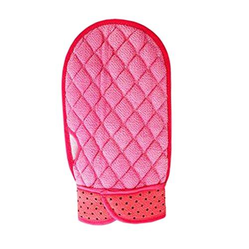 Loofah Sponge Scrubber Bath Sponge Wash Towel Gant de bain et douche E