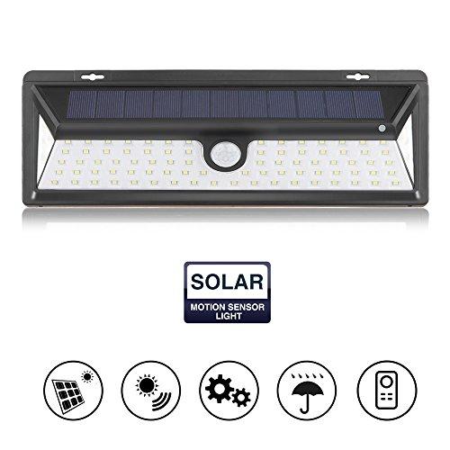 Houkiper 90 LED Solar Motion Sensor Licht, menschliche Infrarot PIR Sensor Licht Wandleuchte Sicherheit Nachtlicht (Sicherheit Lichter Motion Sensor)