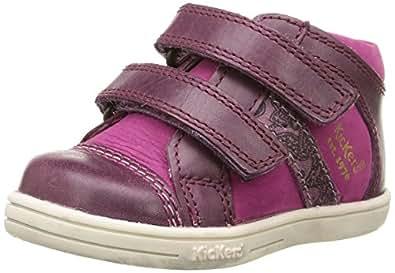 Kickers Trala, Chaussures Premiers pas mixte bébé, Violet (Violet/Rose), 20 EU