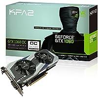 KFA2 GeForce GTX 1060 OC PCI-E Gaming-Grafikkarte, 6GB GDDR5, schwarz