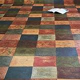 PVC Bodenbelag Latina Multicolor Breite 3 m (11,95 EUR pro m²)