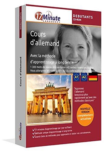 Cours d'allemand pour débutants (A1/A2). Logiciel pour Windows/Linux/Mac OS X. Apprendre les bases de l'allemand