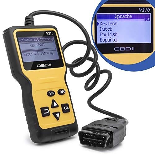 Universal Diagnosegerät OBD 2 II Scanner Auto Fehler Code Auslesegerät KFZ PKW