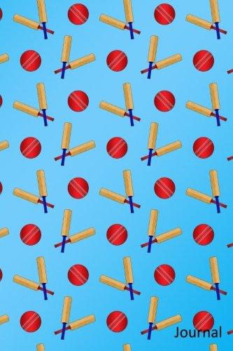 Journal: Sky blue cricket notebook Blue Cricket