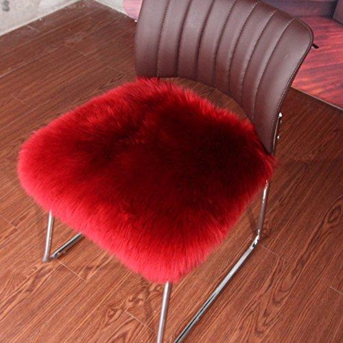 Wohnzimmerschrank,Einfarbige kissen Sofa kissen stuhl matte,Kissen Kissen im winter-R 55x55cm(22x22inch) (Outdoor-wildleder-sofa)