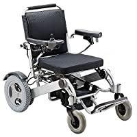 OPOME Heavy Duty Electric Power Wheelchair, Support up to 350lbs, Battery Mileage 23 Kms
