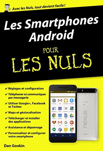 Les Smartphones Android pour les Nuls (POCHE NULS) (French Edition ...